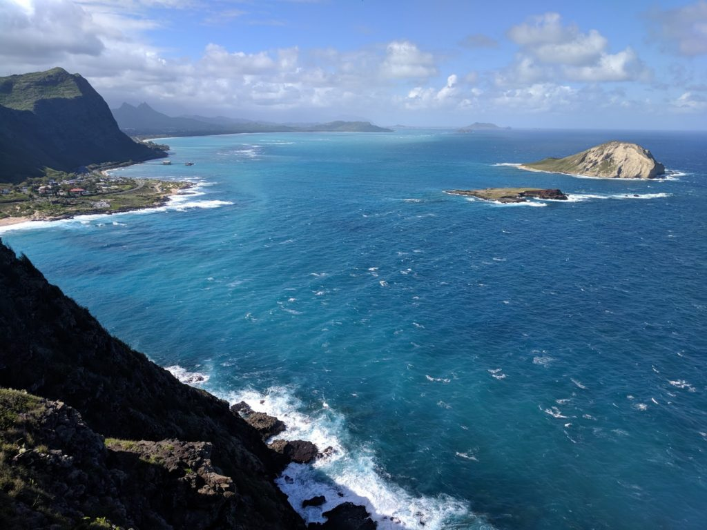 What a beautiful view at Makapuu Lighthouse